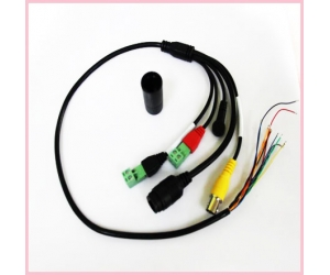 Hot sales 13 pin 1.25 muti-function Internet camera cable