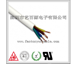 PVC sheathed cable installation