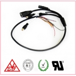 China Hot sales 2 pin 1.0+11pin 1.25 Internet camera cable with reset switch factory