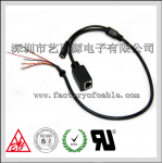 China Simple 8-core network cable with tail card factory